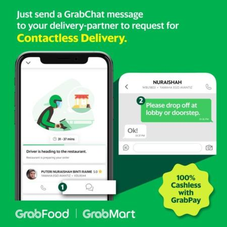 Grab Contactless Deliveries