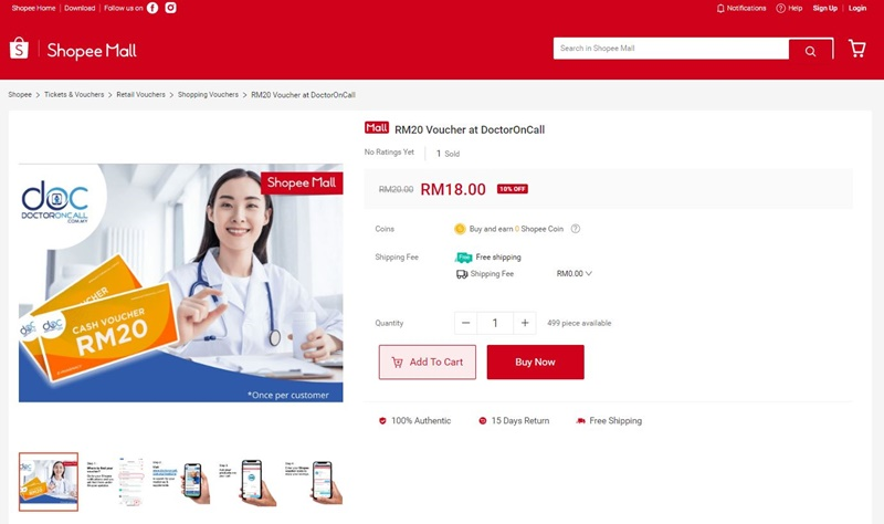 doctor on call shopee 2