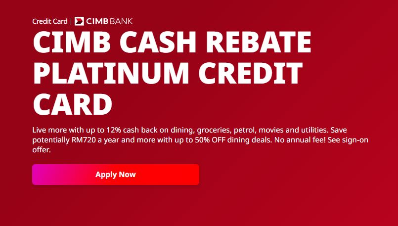 cimb cash rebate platinum mastercard 2