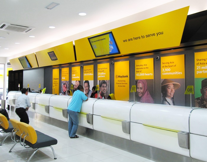 maybank counters