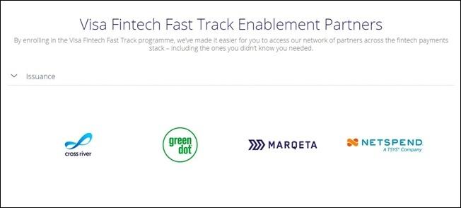 visa fintech fast track programme 2
