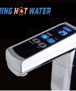 Push-button-chilled-boiling-water-tap