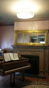 Original Ringling Furniture in Music Room.