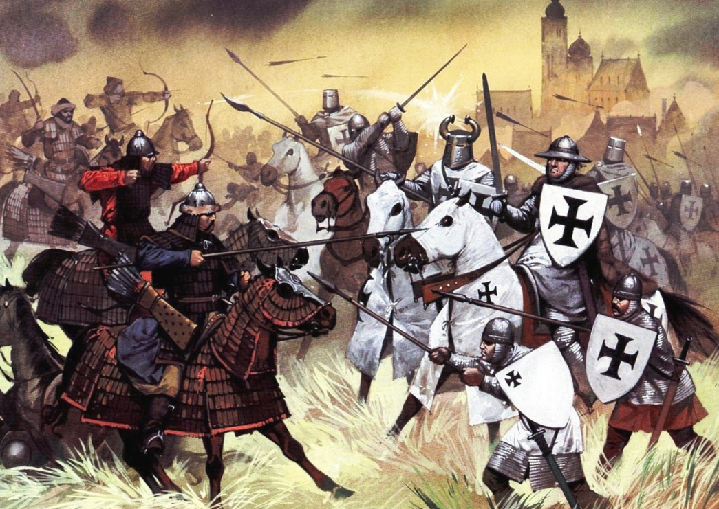 Image result for mongols invade germany