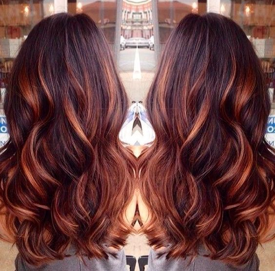 60 Brilliant Brown Hair With Red Highlights