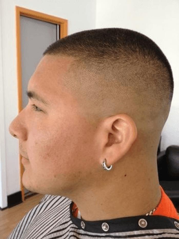 Bald Fade Undercut Hairstyle For Men