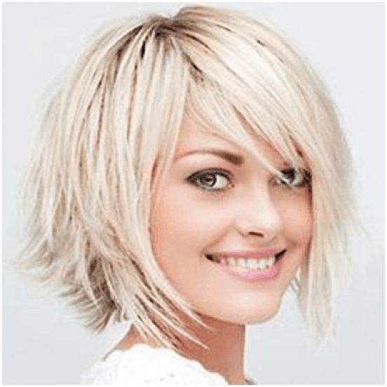 Blonde Layer Hairstyle For Women