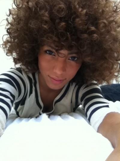 Cute Natural Afro-like Curls
