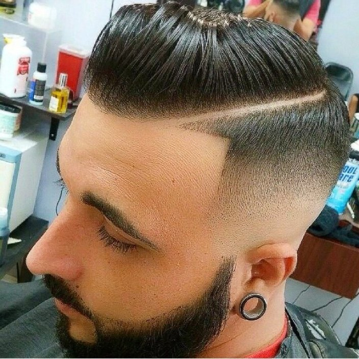 Razor Low Fade Haircut for Men