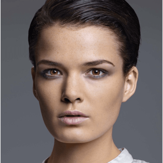 Slicked Back Style Hairstyle For Women
