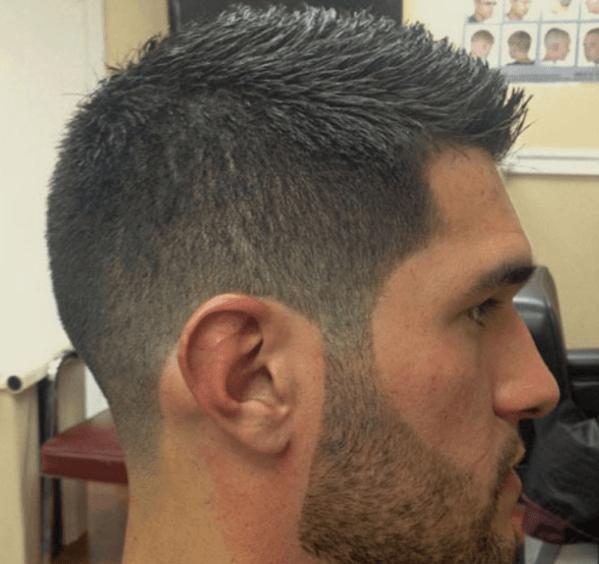 Brush Cut Haircut For Men