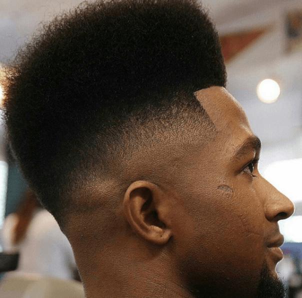 High Low Fade Haircut
