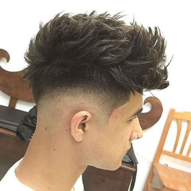 High Top Taper with Low Fade Hairstyle For Men