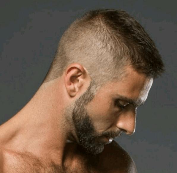 High and Tight Military Short Haircut