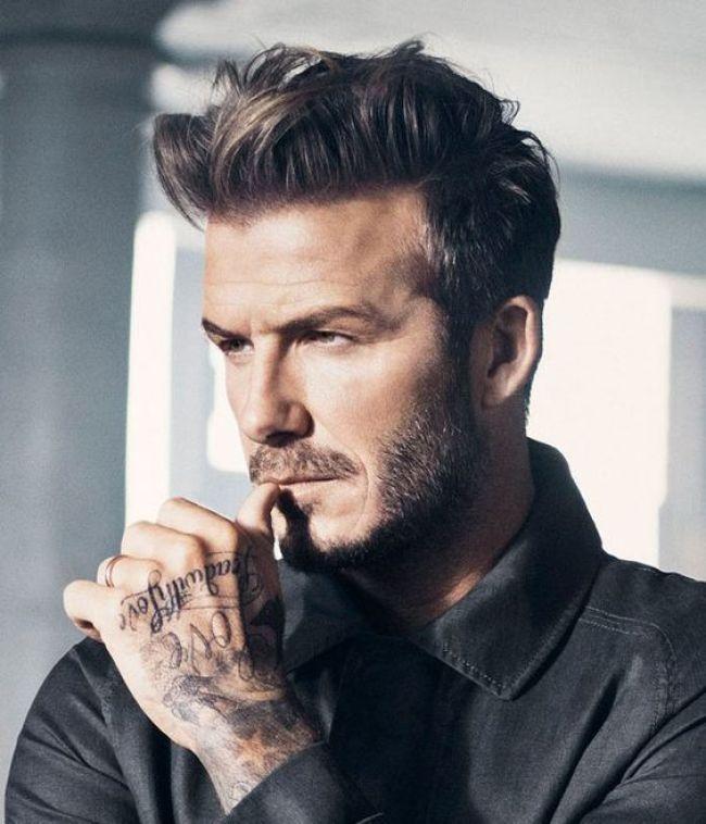 Medium Length Texturized Hair Hairstyle For Men