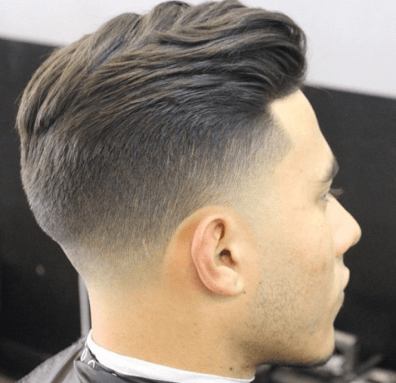 Taper Fade Layered Style for men