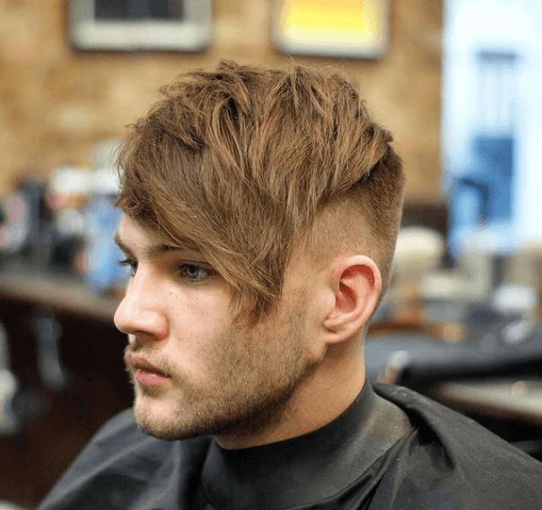 Long Fringe Hairstyle