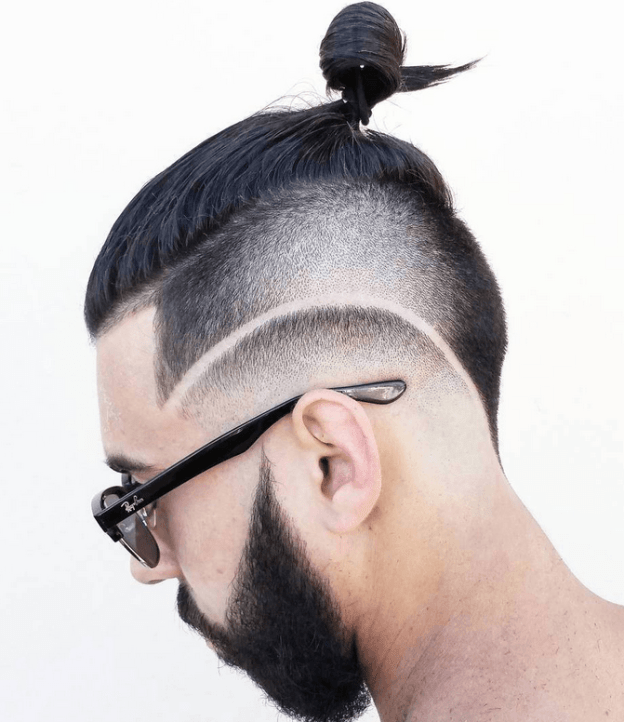 Long Under Cut with Geometric Designs