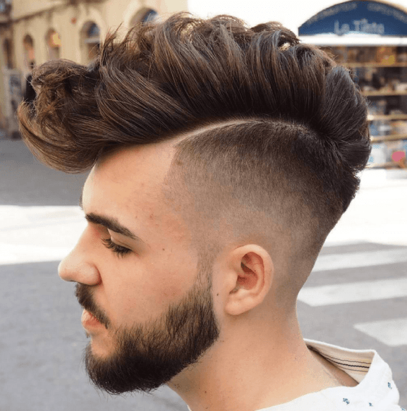 Thick Faux Hawk Mullet