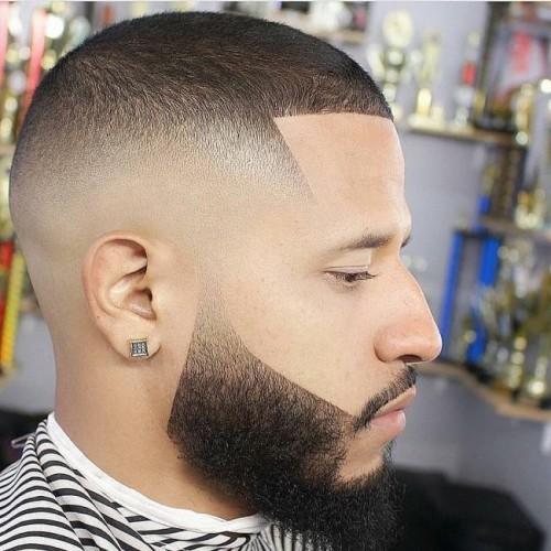 Buzz Cut bald Fade