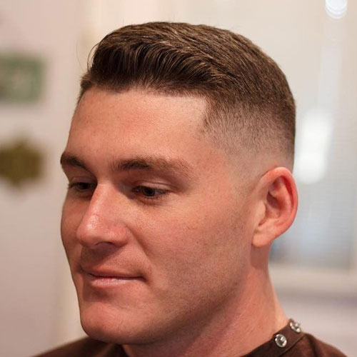 High and Tight Ivy League Haircut