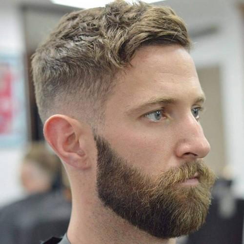 Hipster Ivy League beard
