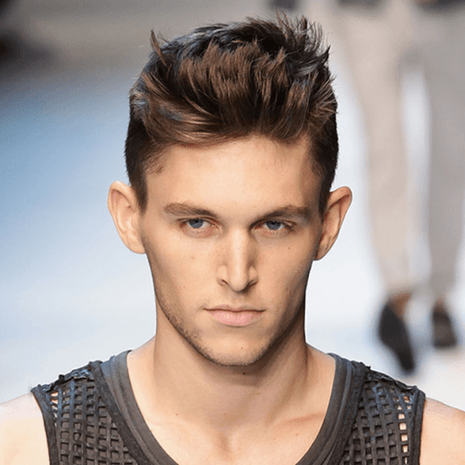Short Sides with Long Top Straight