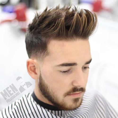 Spiky Ivy League Haircut