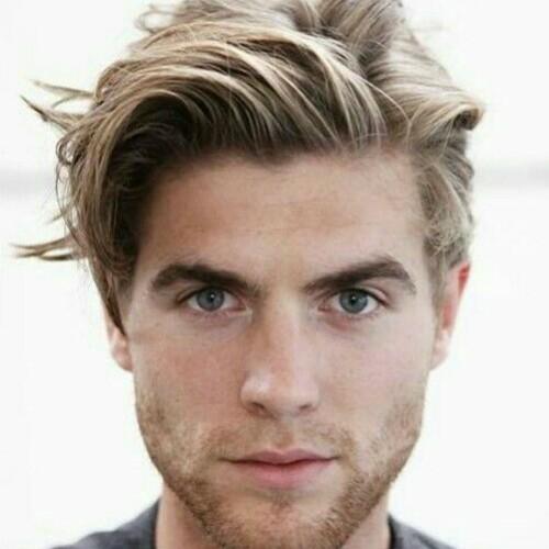 Tousled Ivy League Haircut
