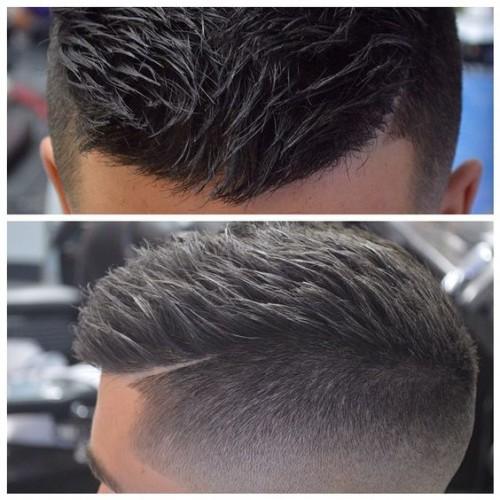 skin fade Sharp edges