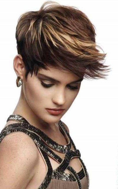 Short Pixie with a nice Flare