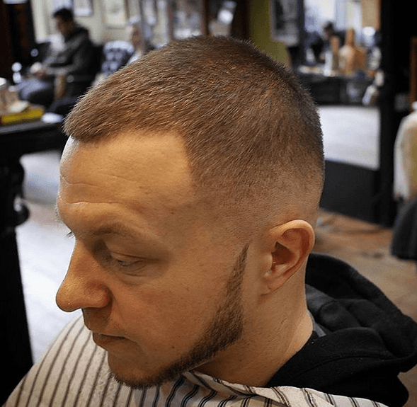 Short Taper Haircut