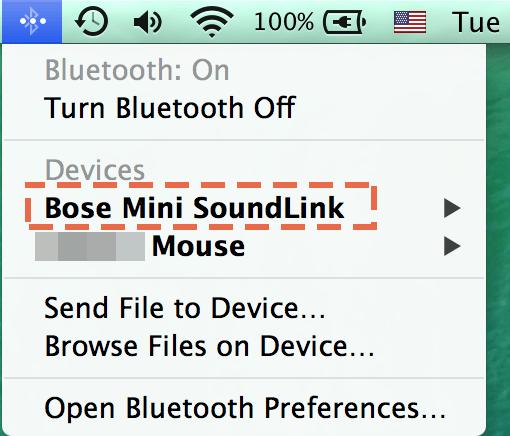 Mac-Wireless-music-Bluetooth