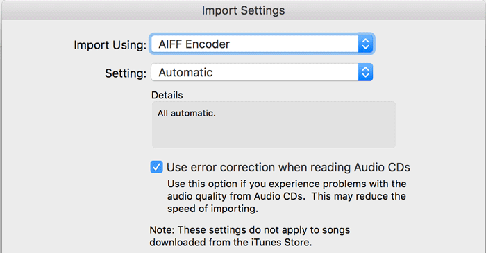 ITunesの拡張子AAC AIFF Apple Lossless MP3 WAVについて 4