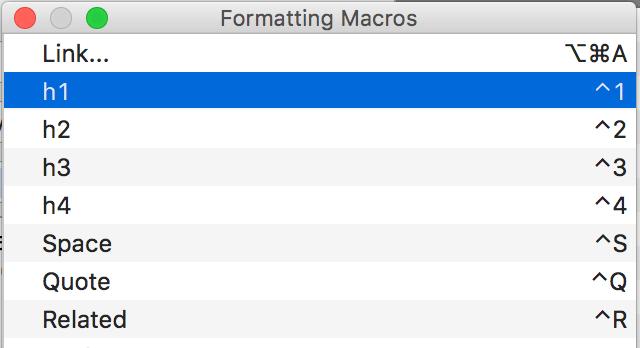 MarsEditの初期設定と HTMLタグのショートカット追加方法 12