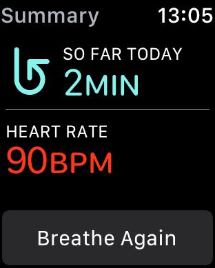 Apple Watchをマインドフルネス深呼吸に使う 4 2