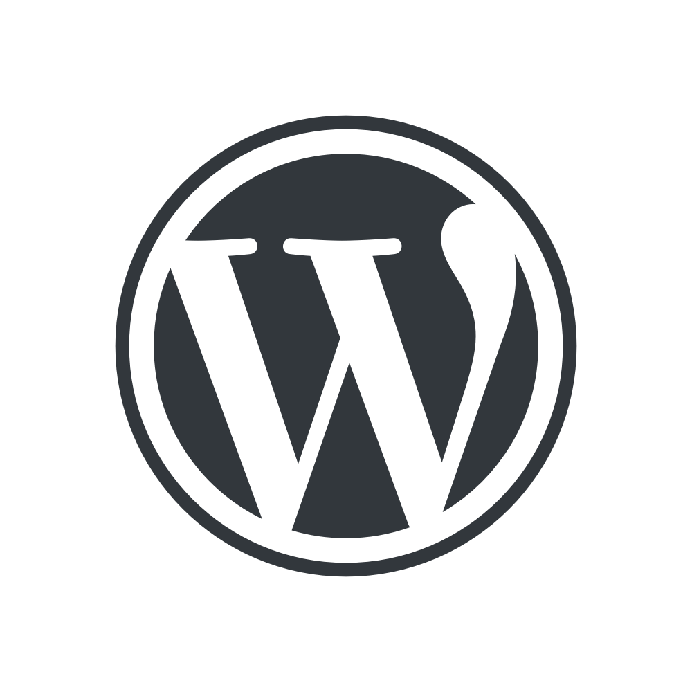WordPress logotype wmark