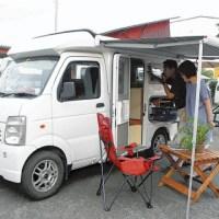 【話題】軽自動車を改造したキャンピングカーが人気