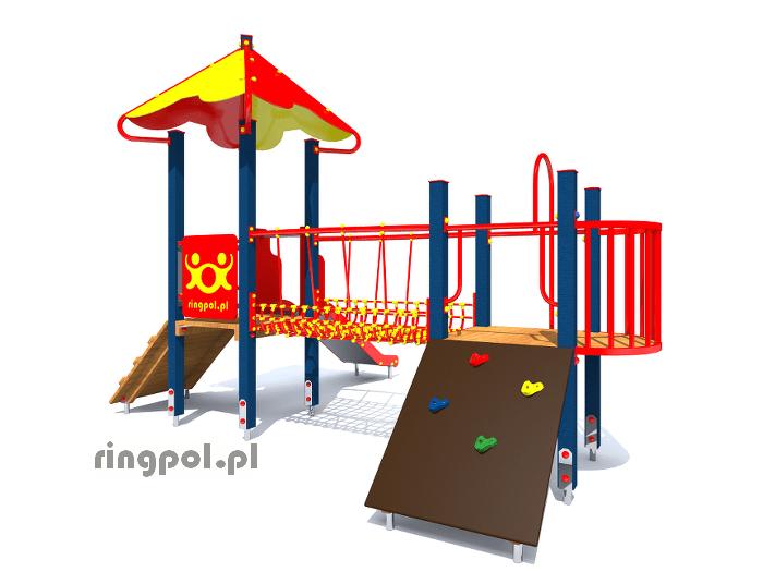 Plac zabaw dla dzieci - Fiołek polny z006