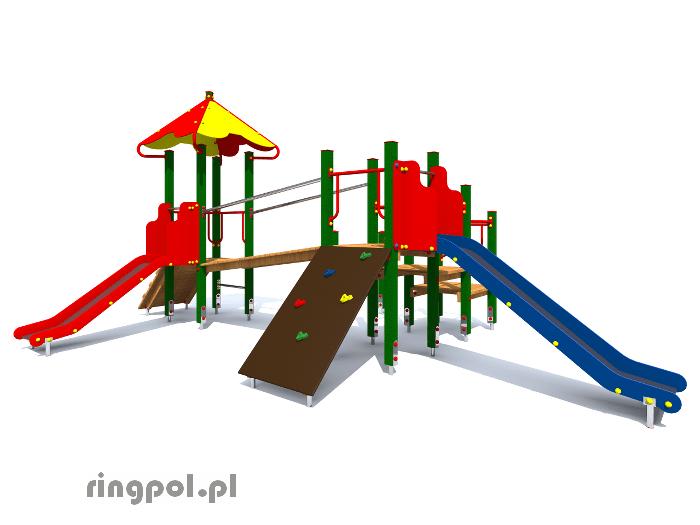 Plac zabaw dla dzieci Bławatek z008