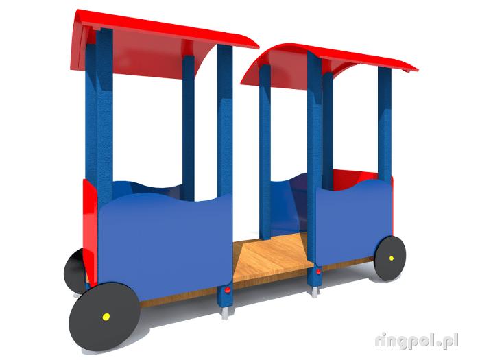 Plac zabaw Wagonik z061b