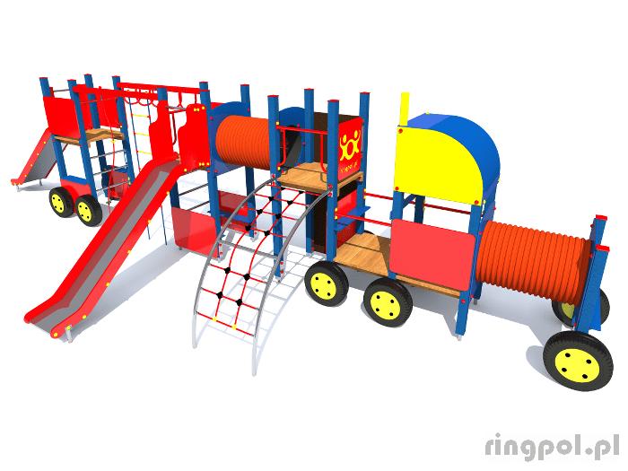 Plac zabaw dla dzieci - Tir z tubą