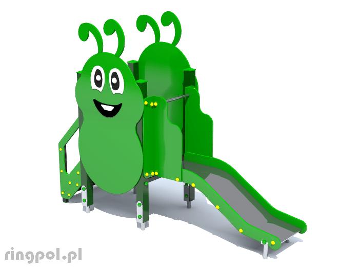 Plac zabaw dla dzieci - Gąsienica mała