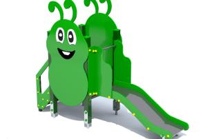 Plac zabaw Gąsienica mała [z150c] -Tematyczne place zabaw