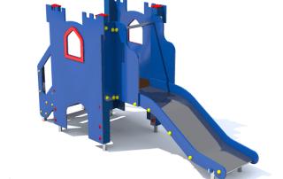 Plac zabaw dla dzieci - Zamek mały [z154d] -Tematyczne place zabaw