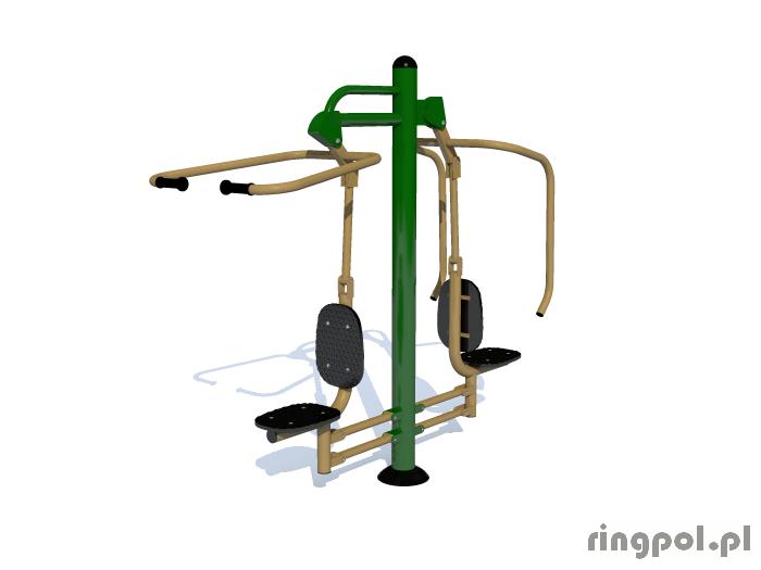Siłownia zewnętrzna - Krzesełka do ściągania i wyciskania