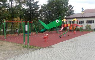 Plac zabaw Golcowa 2016 r.