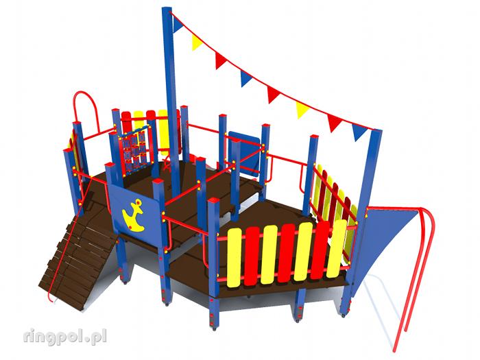 Plac zabaw Statek średni