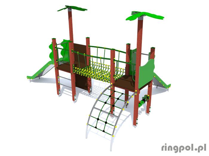 Plac zabaw tropicana 2