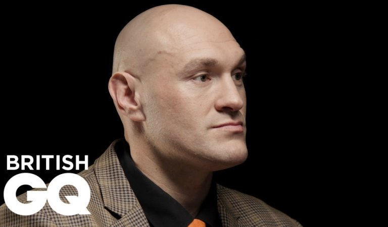Tyson Fury's world exclusive interview with GQ magazine is finally out